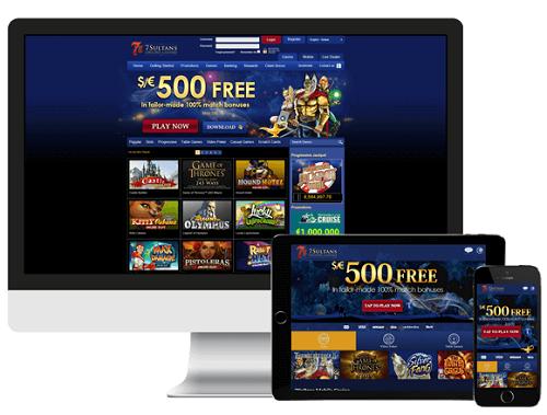 7 Sultans Casino Review USA